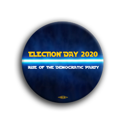"Rise of the Democrats 3"" Button"