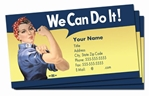 We Can Do It! Rosie Business Cards