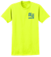 Safety Green T-Shirt - Safety Green-SMS-YL1