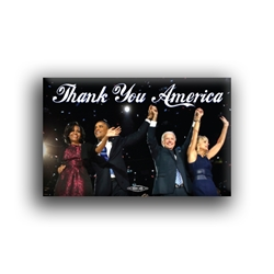 "Thank You America 2""x 3"" Button"