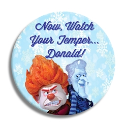 "Watch Your Temper  3"" Button"
