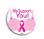 "We Support You 3"" Button"