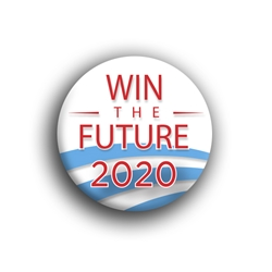 "Win the Future 2.25"" Button"