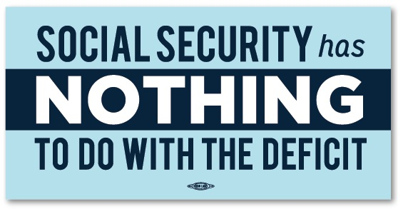 Social Security ≠ The Deficit Bumper Sticker