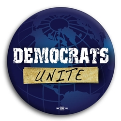 Democrats Unite Button