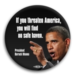 Threaten America - No Safe Haven Button