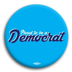 Proud to be a Democrat Script Button