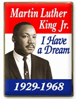 Martin Luther King Jr. Lapel Pin