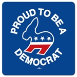 Proud to be a Democrat Mouse Pad