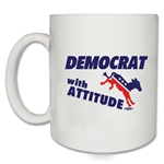Democrat With Attitude Coffee Mug