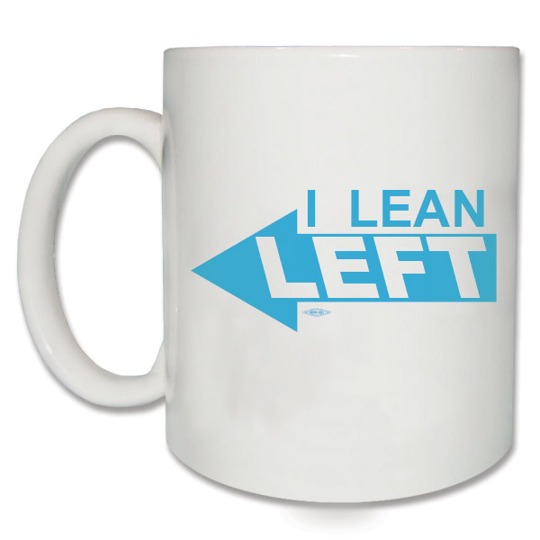 I Lean Left Democratic Coffee Mug
