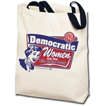 Democratic Women are the Life of the Party Totebag