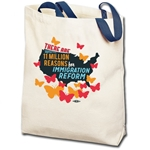 11 Million Reasons to Support Immigration Reform Totebag