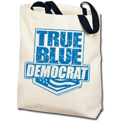 True Blue Democrat Totebag
