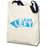 I Lean Left Democratic Totebag