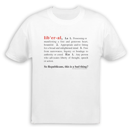 Liberal Definition T-Shirt