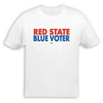 Red State Blue Voter T-Shirt