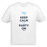 Keep Calm and Party On Democratic T-Shirt