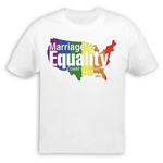 Marriage Equality Coast to Coast T-Shirt