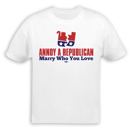 Annoy A Republican Marry Who You Love T-Shirt