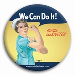We Can Do It! Nurse Rosie the Riveter Button