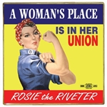 A Woman's Place... Rosie the Riveter Lapel Pin