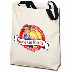 Rosie the Riveter Totebag