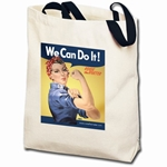We Can Do It! Rosie the Riveter Totebag