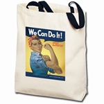 We Can Do It! Ethnic Rosie the Riveter Totebag