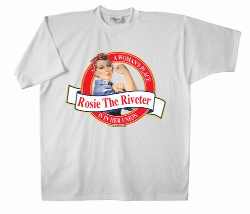 Rosie the Riveter Brand T-Shirt